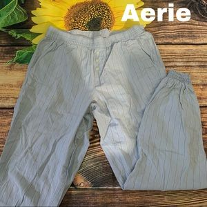 Aerie size XS X-Small striped pajama lounge pants
